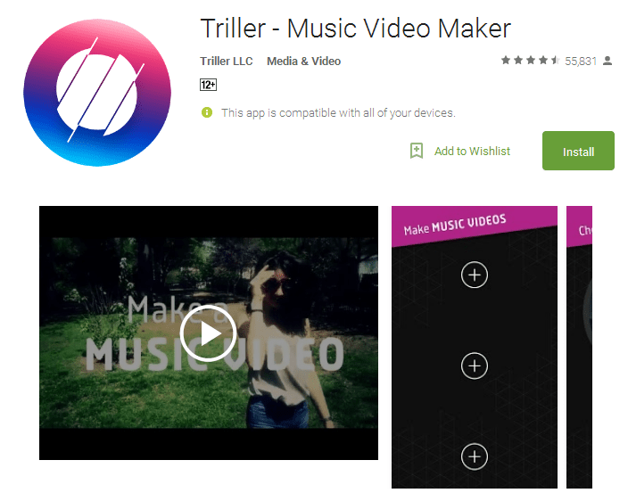 Triller Music Video Maker