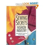 Book Review--Sewing Secrets from the Fashion Industry
