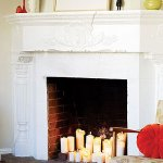 Home decor:  Five fall favorites #4--candlelight