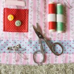 Sewing organizers are just one of the many types of organizers that can be made with fabric.