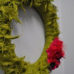 Wicked Easy Spring Wreath