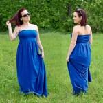DIY Pleated Maxi Dress Tutorial (Free Pattern!)