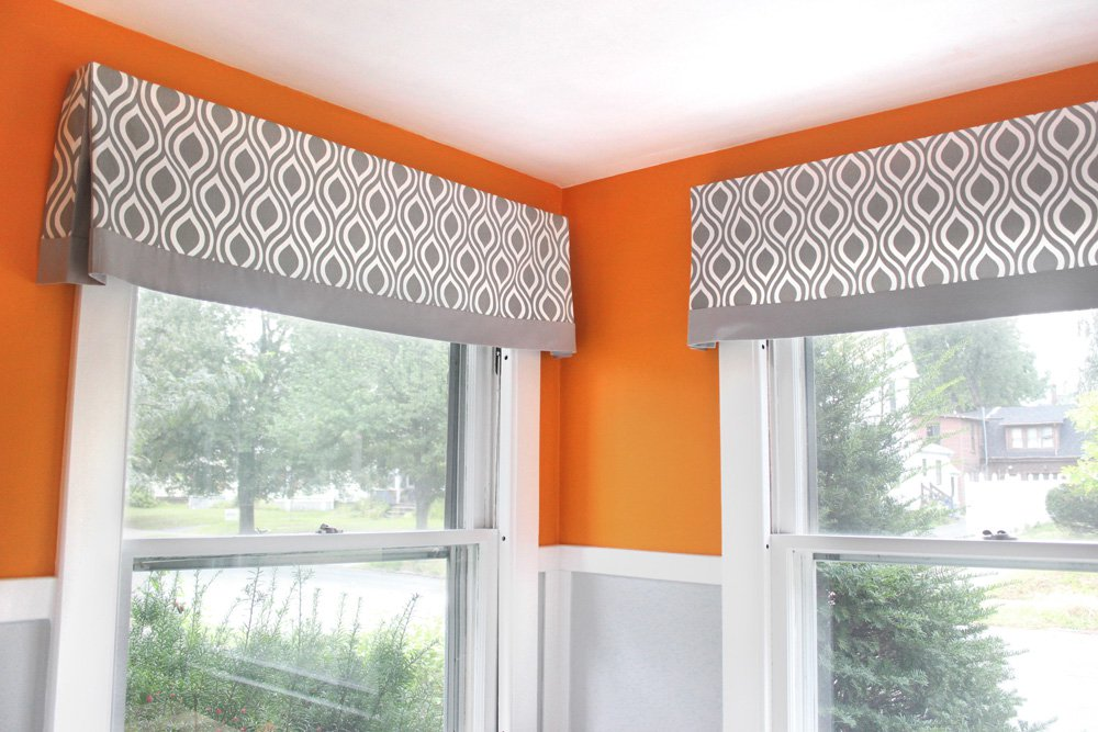 Diy No Sew Valance Tutorial Blog