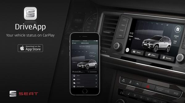 SEAT sa stal prvým automobilovým výrobcom, ktorý má aplikáciu CarPlay pre iPhone v App Store