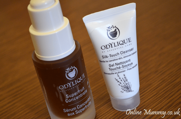 Essential Care Organic Superfruit Serum and Silk Touch Cleanser
