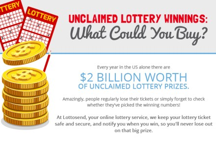 Unclaimed Lottery Prize Money Means Unparalled Investments