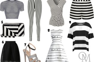Black and White - Stripes