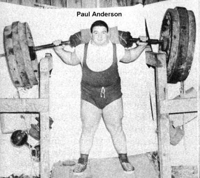 Paul Anderson Online World Of Wrestling