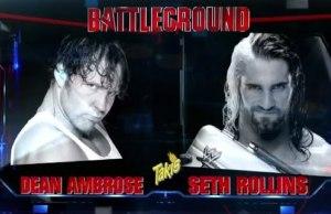 Dean Ambrose match