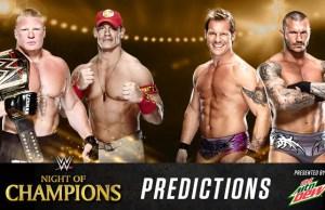 NOC 2014 predictions
