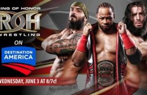 ROH debut