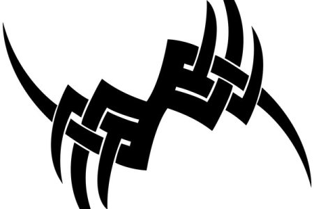 simple tribal tattoo designs