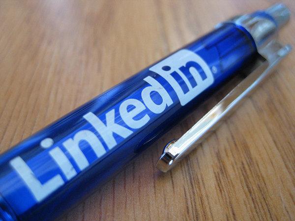 LinkedIn promo pen