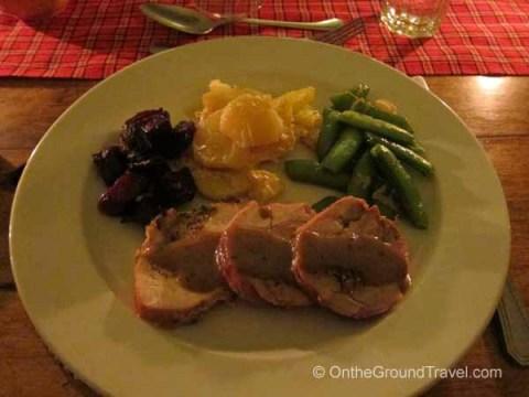 Fantastic dining at Kicheche