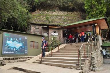 Machu Picchu Entry Gate Peru