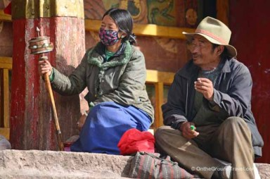 Trip to Tibet Travel - Nechung Monastary