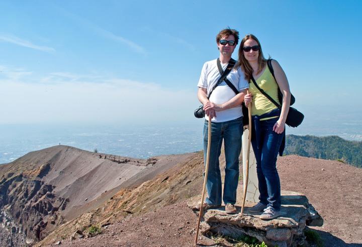 Vesuvius crater walk