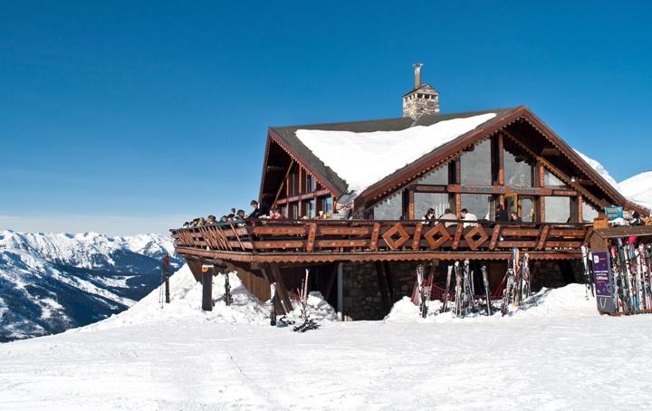 Le Chardonnet restaurant in Meribel Mottaret
