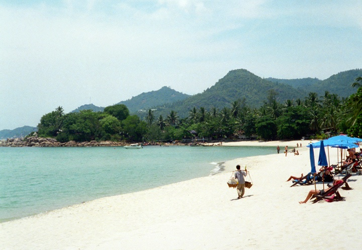 Beach in Ko Samui in Thailand