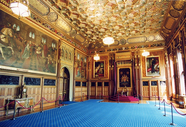 Robing Room, Houses of Parliament, London