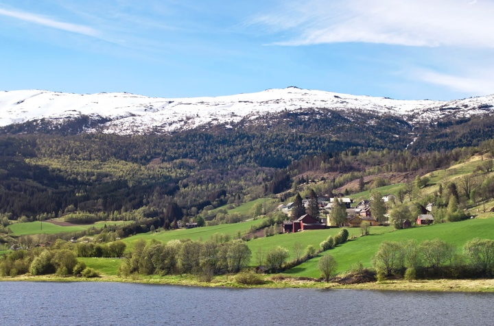 Views from the Bergen-Myrdal train