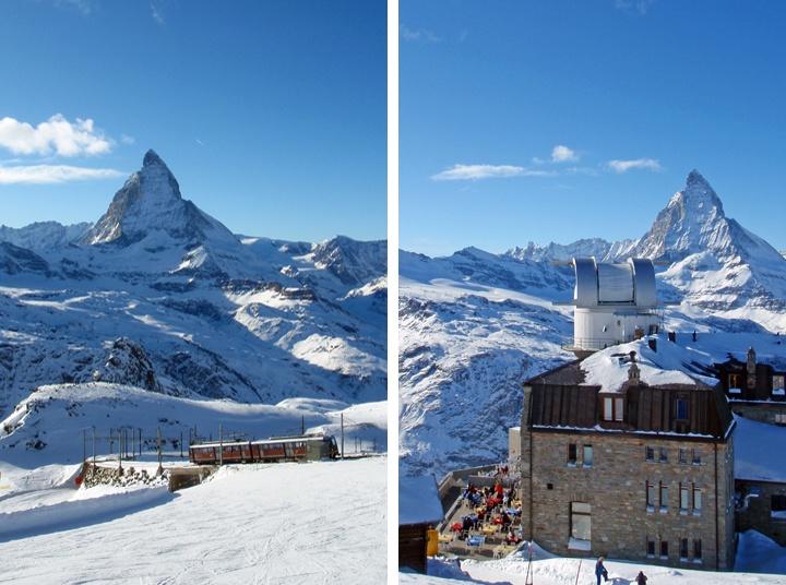 The view of the Matterhorn from Gornergrat