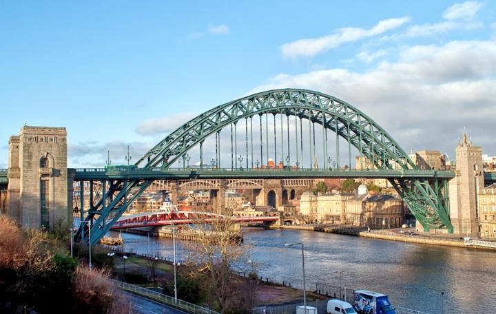Newcastle's Tyne Bridge