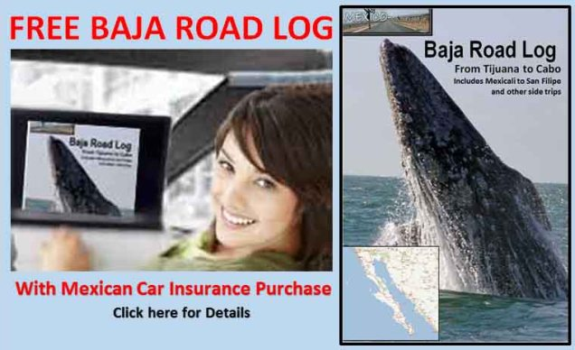 Baja Road Log Offer