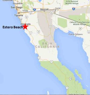 Estero Beach map