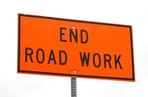 Construction-Zone-End-of-Road-Work-Sign