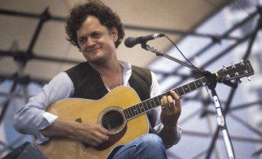NEW YORK - 1981: Singer and song writer Harry Chapin performing at the Dr. Pepper Summer Concerts at Pier 81 in New York City in 1981. (Photo by Waring Abbott/Getty Images)