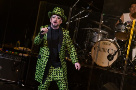 Culture Club's 2016 world tour stops at Tulsa, Oklahoma's Hard Rock Casino for a sold out show.