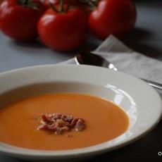 tomatensoep met spekjes