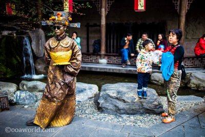 Golden Boy Grandma Chengdu Shi,