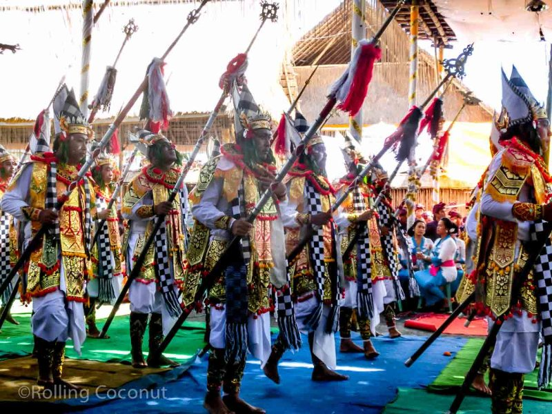 Full Moon Men Dance Ubud Bali Indonesia photo Ooaworld