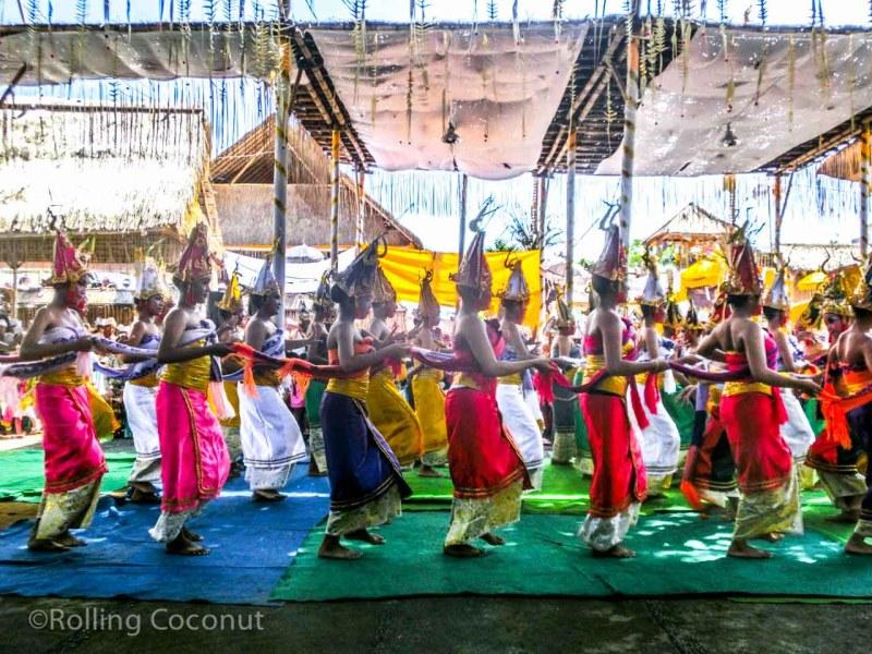 Full Moon Women Dance Ubud Bali Indonesia photo Ooaworld