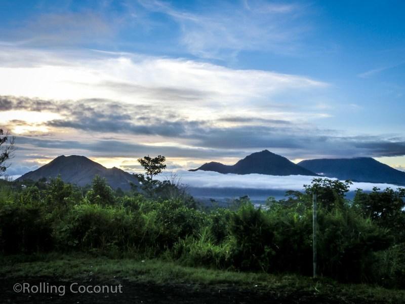 Mount Batur Sunrise Bali Indonesia photo Ooaworld