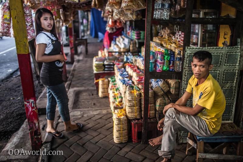 Photo Probolinggo Indonesia Shopkeepers Ooaworld