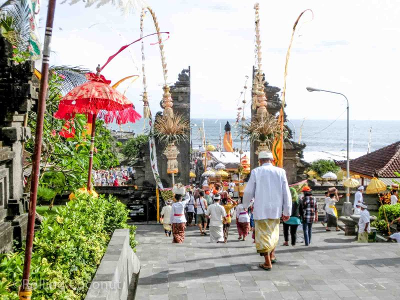 Tanah Lot Entrance Bali Indonesia photo Ooaworld