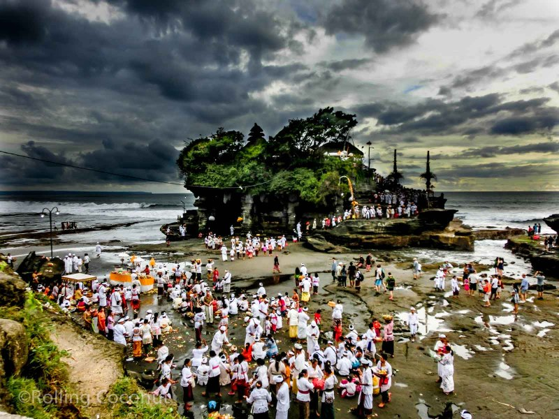Tanah Lot Landscape Bali Indonesia photo Ooaworld