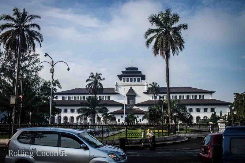 Gedung Sate Bandung Indonesia Photo Ooaworld