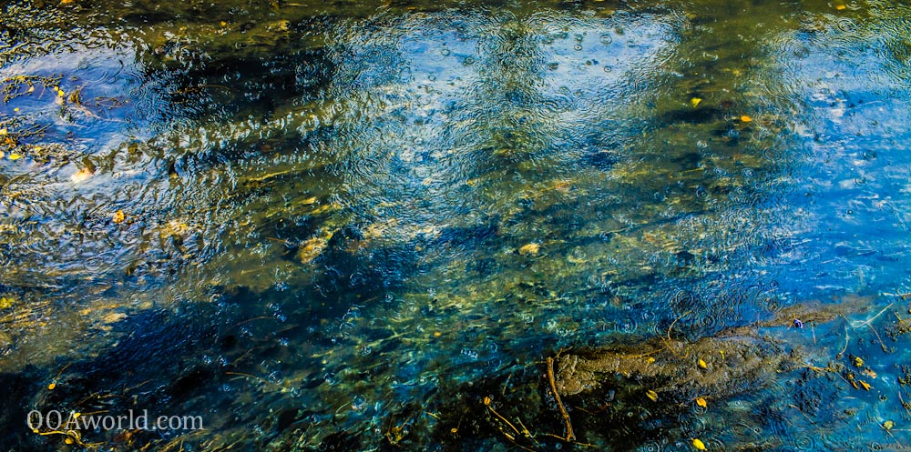 Gold River Abstract Photo Ooaworld
