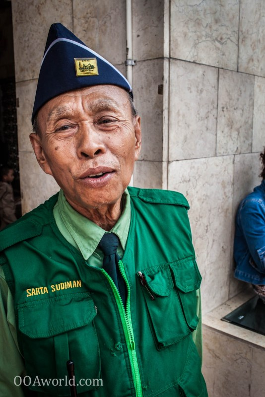 Istiqlal Jakarta Mosque Security Portrait Photo Ooaworld