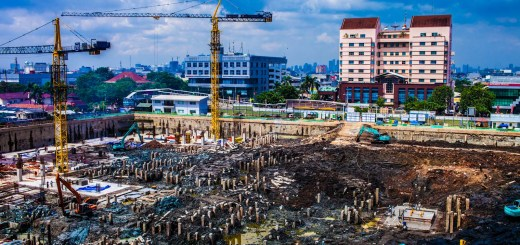 Jakarta Construction Indonesia Photo Ooaworld