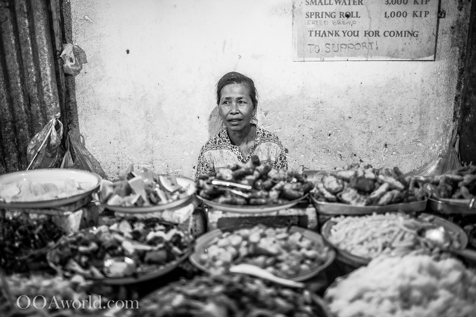 Luang Prabang Night Market Photo Ooaworld