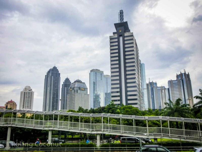 Skyline Jakarta Indonesia Photo Ooaworld