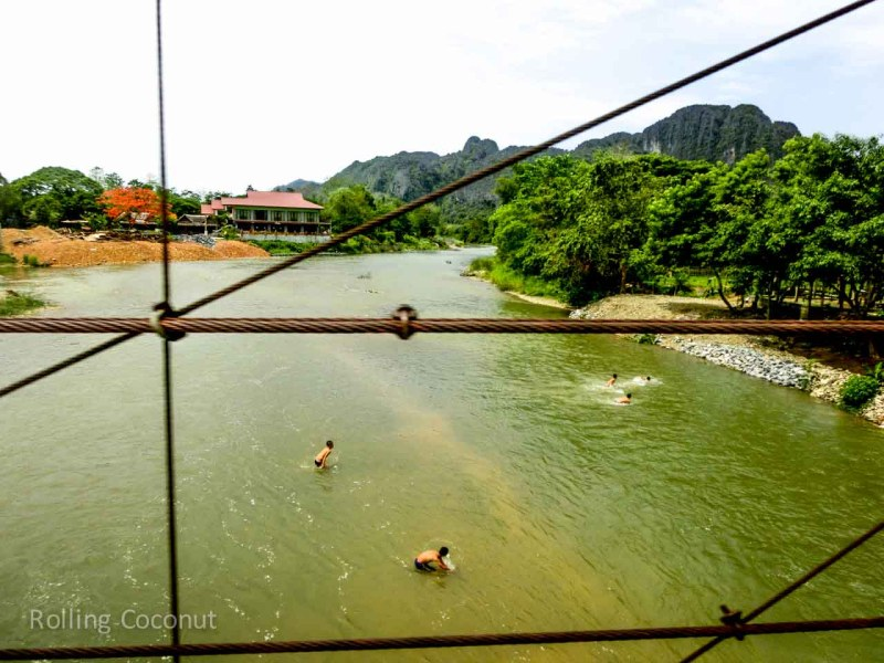 One day in vang vieng laos ooaworld for Domon river guesthouse vang vieng