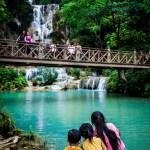 Kuang Si Falls Children Photo Ooaworld