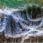 Kuang Si Falls Abstract Texture Photography Photo Ooaworld