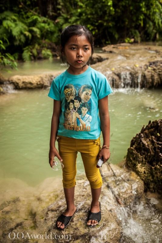 Luang Prabang Portrait Girl Photo Ooaworld